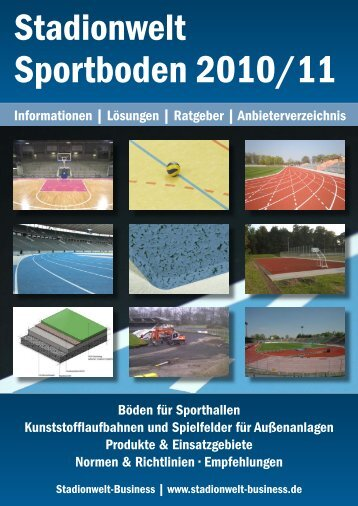 und Sportböden • innovativ • mobil • vielseitig - RIV Sachsen eV