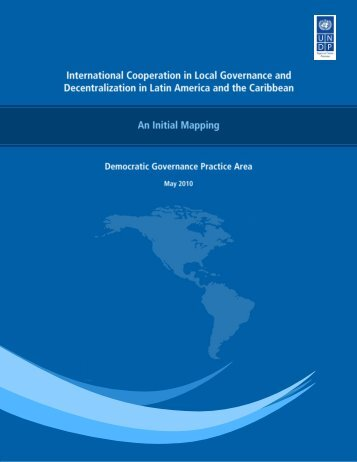 International Cooperation in Local Governance and Decentralization ...