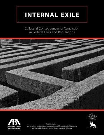 INTERNAL EXILE - Public Defender Service