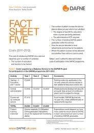 FACT SHEET FIVE - Dafne - Uk.com