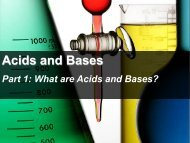 Acids and Bases - Apple