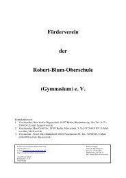 Förderverein der Robert-Blum-Oberschule (Gymnasium) e. V.