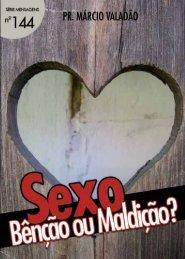 Sexo Bênção ou Maldição - Lagoinha.com