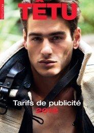 Tarifs de publicité 2012 - Les Tarifs de la Presse