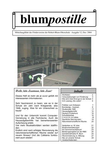 2004 – Dezember (1,3 MB) - Robert Blum Gymnasium