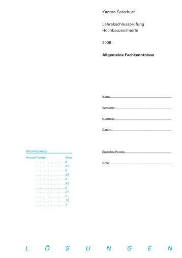 Lösungen (PDF) - SLZ