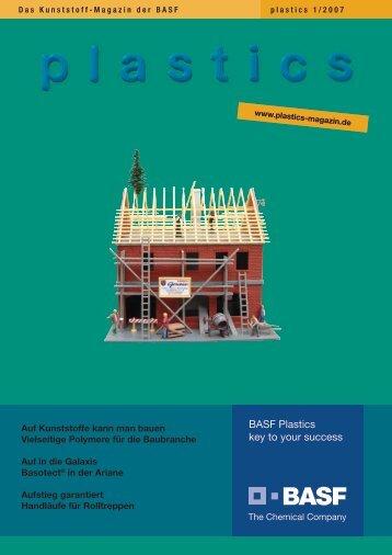 Die komplette Ausgabe des Plastics ... - BASF Plastics Portal