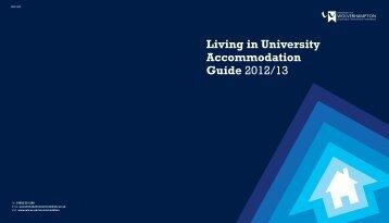 Living in Accommodation - University of Wolverhampton