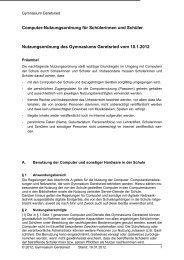 Computer-Nutzungsordnung für Schülerinnen und Schüler ...