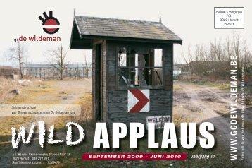 seizoensbrochure 2009-2010 Gc De Wildeman - Gemeente Herent