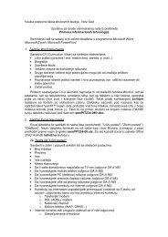 Uputstvo za seminarski rad - PIT - Visoka poslovna Å¡kola strukovnih ...