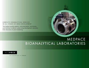 Medpace Bioanalytical Laboratories