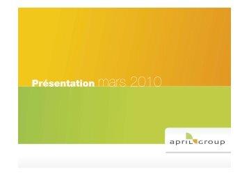 Lire la présentation - April