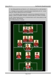 Saison 2012/13 Spielberichte (Kampfmannschaft ... - FC Tannheim
