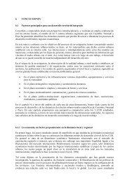 6 CONCLUSIONES 6.1 Factores principales para un desarrollo ...