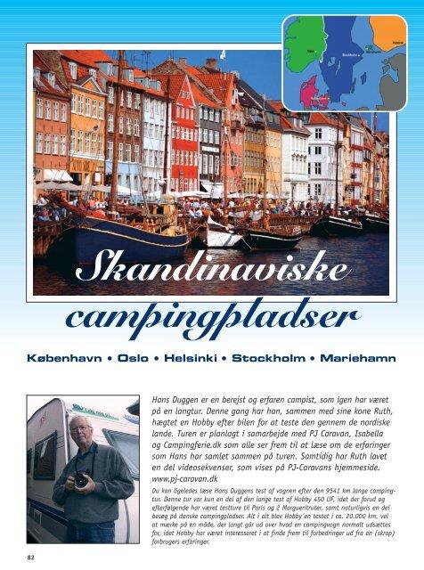 Skandinaviske Hovedstæder - Campisternes Rejseportal