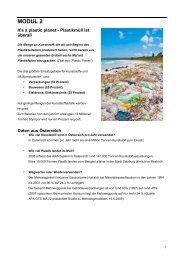 MODUL 2 - Plastic Planet