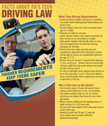 Teen Driver Laws