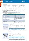 GAS SENTINEL - Rivelatori di fughe gas Metano e ... - Watts Industries - Page 2
