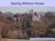 Saving Athlone House - The Highgate Society