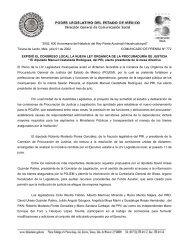 Versión PDF - LVIII Legislatura del Estado de México