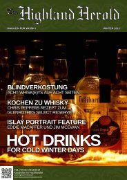 Winter 2013 als PDF herunterladen. - The Highland Herold