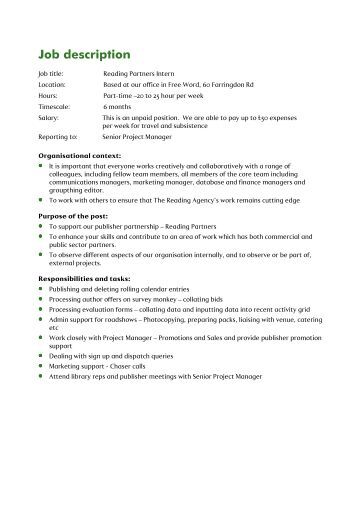 Editor Job Description Technical Editor Job Description Technical