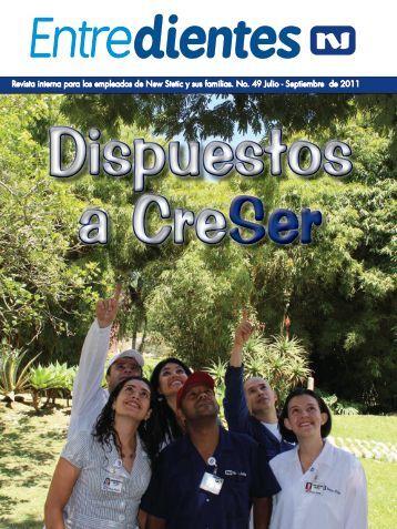 Revista interna para los empleados de New Stetic y sus familias. No ...