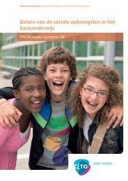 Balans van de sociale opbrengsten in het basisonderwijs - Cito