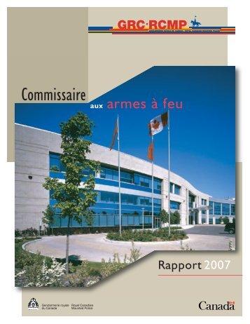 Commissaire aux armes à feu - YWCA Canada