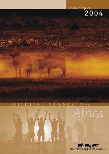 2004 - African Wildlife Foundation