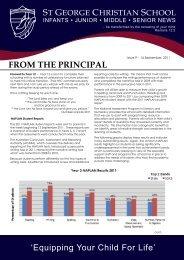 Issue 9 2011.pdf - St George Christian School