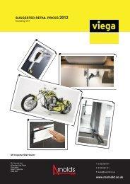 Viega Price Book 2012 - RO Arnolds
