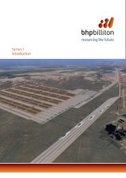 Section 1 Introduction - BHP Billiton