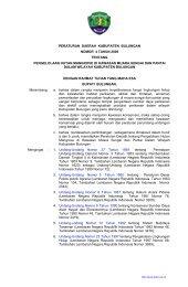rancangan peraturan daerah kabupaten bulungan - Badan ...