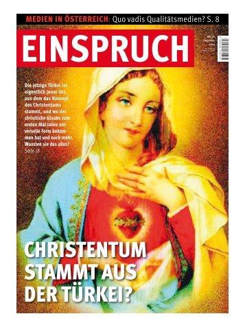CHRIStENtUM StaMMt aUS dER tÜRkEI? - Neue Welt Verlag