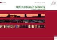 Lichtmasterplan Bamberg für die Innenstadt - Stadtplanungsamt ...