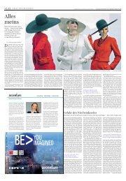 Alles meins - Süddeutsche Zeitung