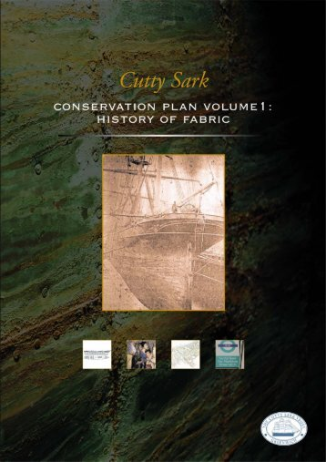 Conservation Plan 1 History of Fabric.pdf - National Maritime Museum