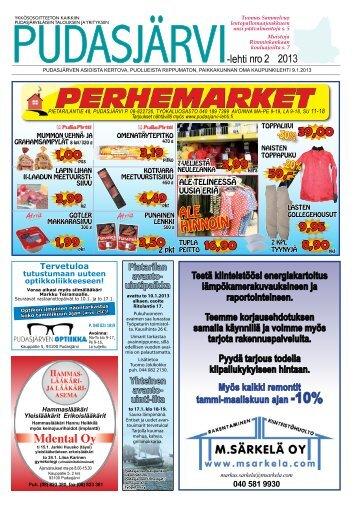 pudasjarvilehti-2-20.. - Pudasjärvi-lehti ja VKK-Media Oy