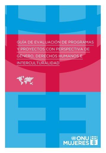 Guía de Evaluación de Programas ONU Mujeres - ESP pdf