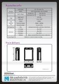 Rapport II-PRO - Measuretronix Ltd. - Page 6