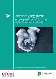 CFOs Perspectives _Environmental Sustainability - GreenProf