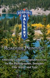 download our brochure! - Roadside Printing