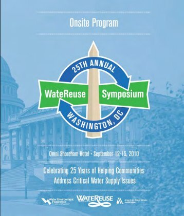 Final Program - WateReuse Association
