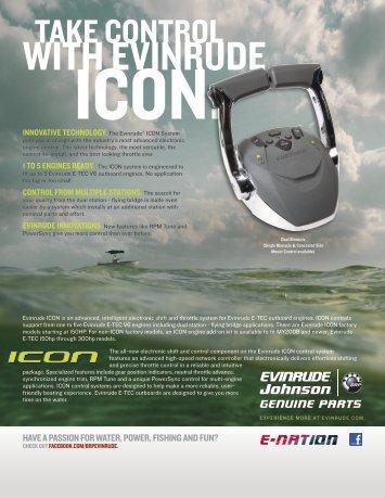 ICON Controls Sheet - Evinrude