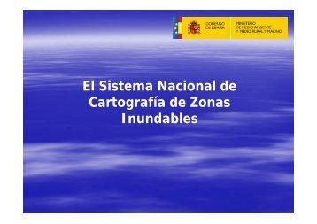 El Sistema Nacional de Cartografía de Zonas Inundables