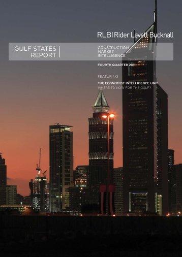 RLB Gulf States Report Fourth Quarter 2011 - Rider Levett Bucknall