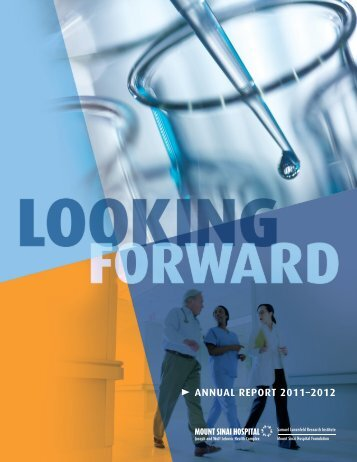 ANNUAL REPORT 2011–2012 - Mount Sinai Hospital