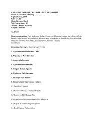 2004/09/13 Agenda - CIRA